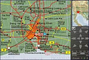 Bangkok Karte.Bangkok Stadtplan City Map Bangkok Thailand Karten Maps