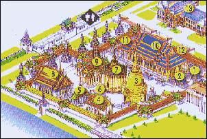 Bangkok Stadtplan, City Map Bangkok Thailand Karten/Maps