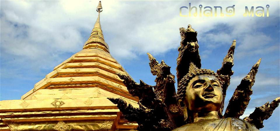 Bild: Chiang Mai Wat Phra That Doi Suthep