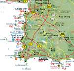 Pattaya Umgebungskarte - East Thailand Map