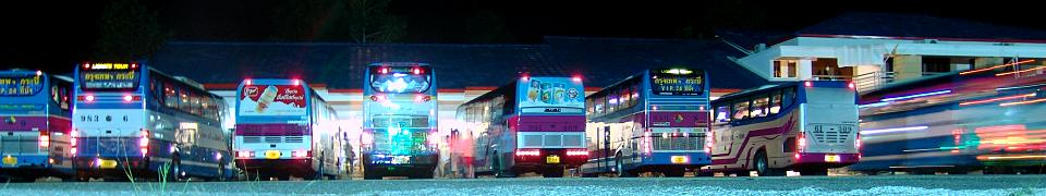 Bild: Bus Station Surat Thani