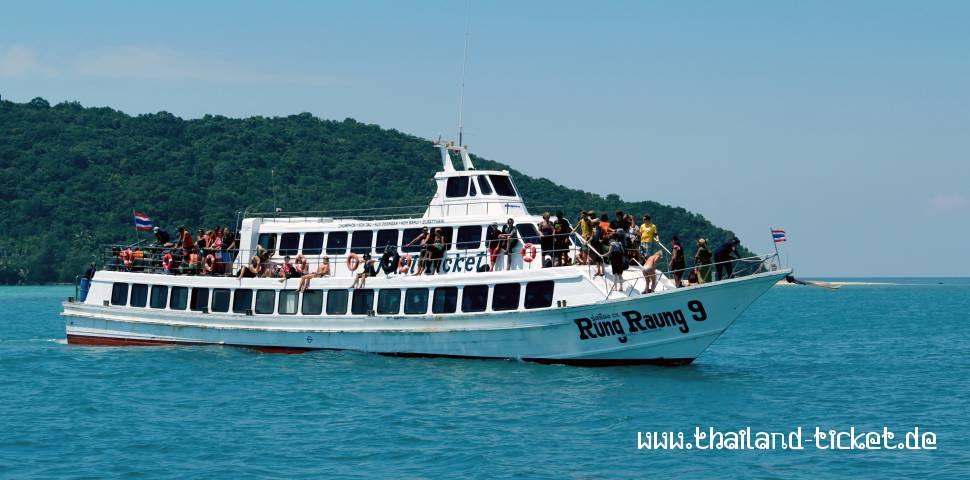 Khao Lak To Similan Islands Ferry
