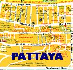 Pattaya Stadtplan - Pattaya Map
