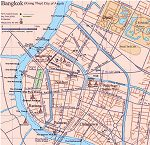 Stadtpl�ne von Bangkok City Map