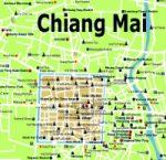 Chiang Mai Stadtplan