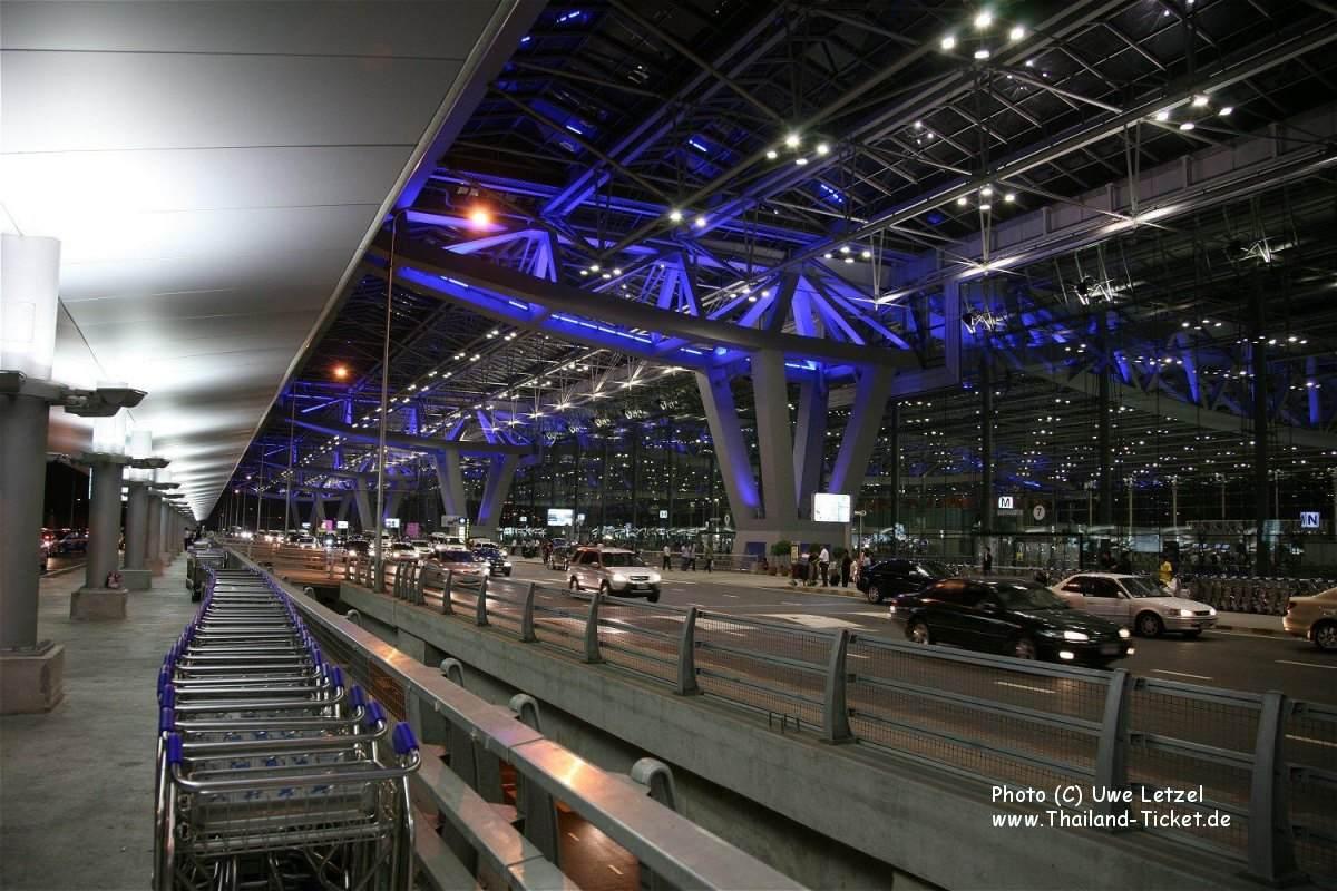 Thailand Flughafen Bangkok