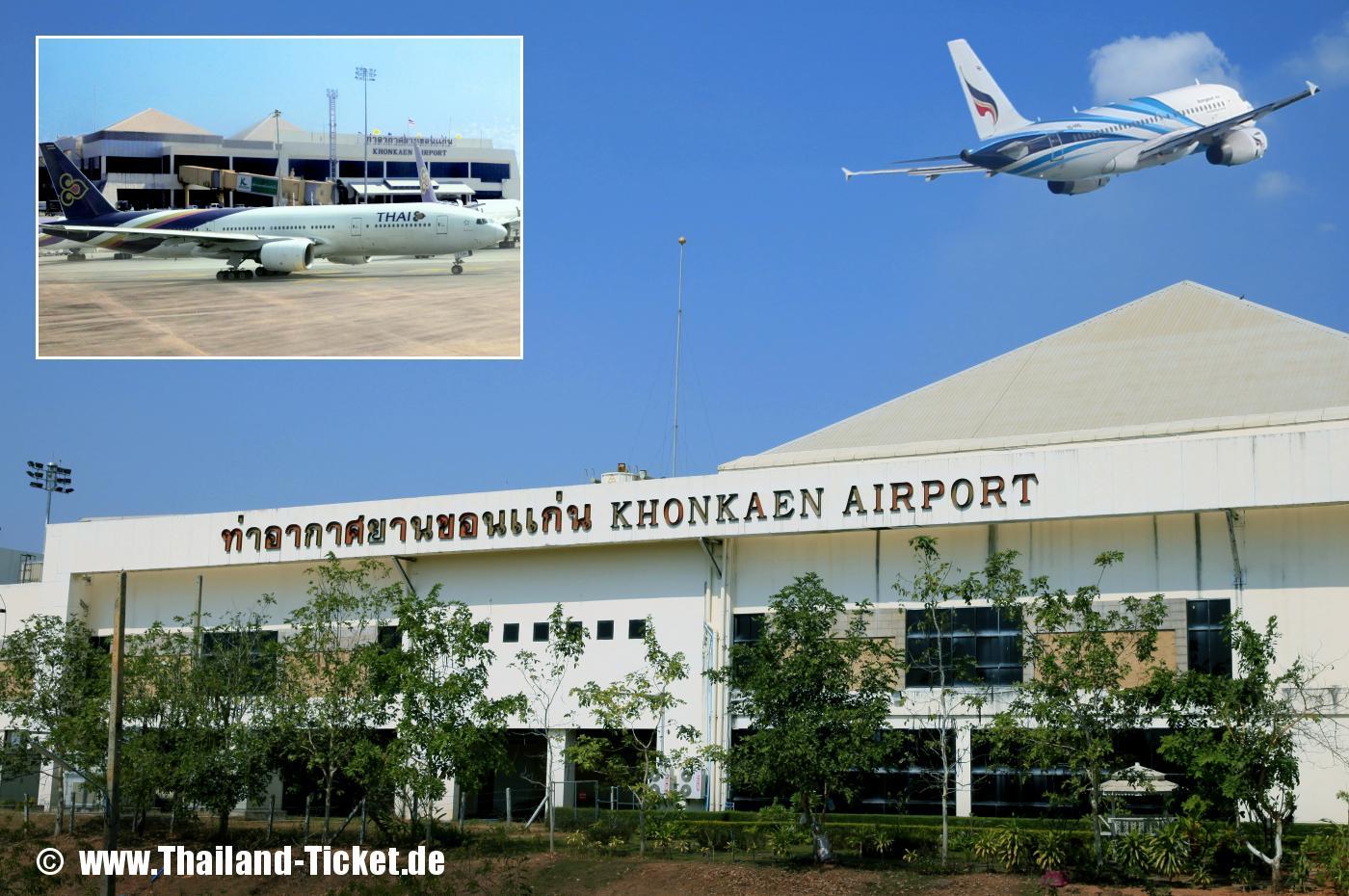 thai airways khon kaen airport kkc