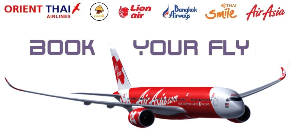 Flugticket Center Thailand Inlandsflüge / Domestic Flights / ?????????????????????????????
