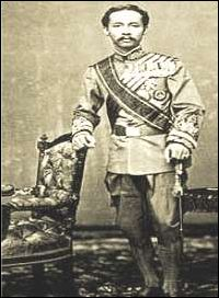 Thai King Chulalongkorn - Rama V