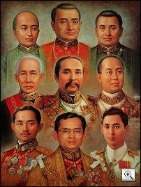 Siam [Thailand] Kings - Thailand History