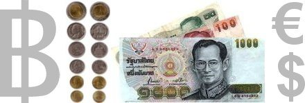 photo: thai currency baht (thb)