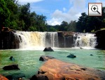 Foto: Chaiyaphum Tat-Thon Nationalpark (Tatton Waterfall)