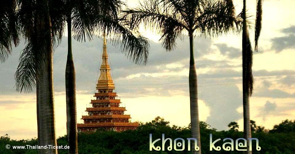 Bild: Wat Nong Waeng in Khon Kaen (Nordost-Thailand)