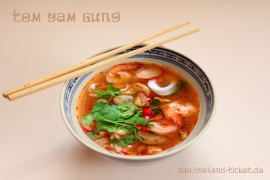 Foto: Thai Rezept Tom Yam Gung Suppe kochen